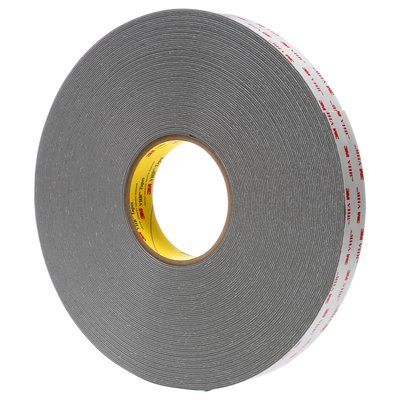 Gray Double Sided Tape with Acrylic Adhesive Pack of 100 Pcs. 3M VHB RP25 Tape Square Strip - 1.5 in Adhesives and Tapes
